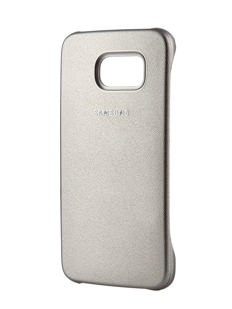 Аксессуар Чехол-накладка Samsung SM-G920 Galaxy S6 Protective Cover Gold EF-YG920BFEGRU