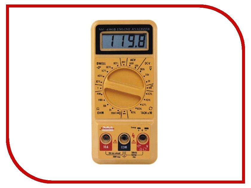 Мультиметр Sinometer SM4380B автомобильный