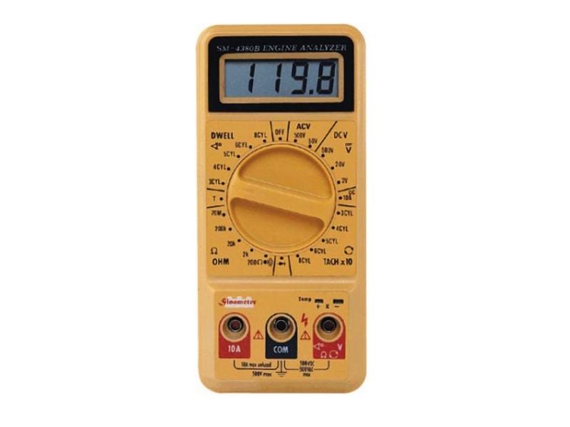 Мультиметр Sinometer SM4380B автомобильный<br>