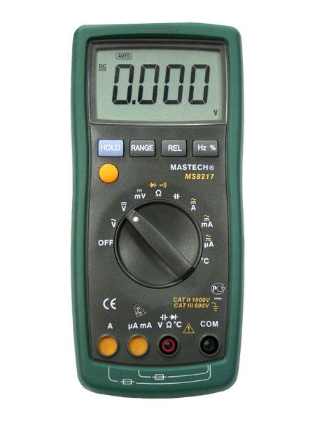 Мультиметр Mastech MS8217 цены