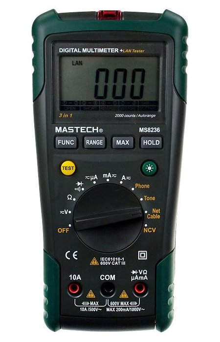 Мультиметр Mastech MS8236 мультиметр mastech 7032
