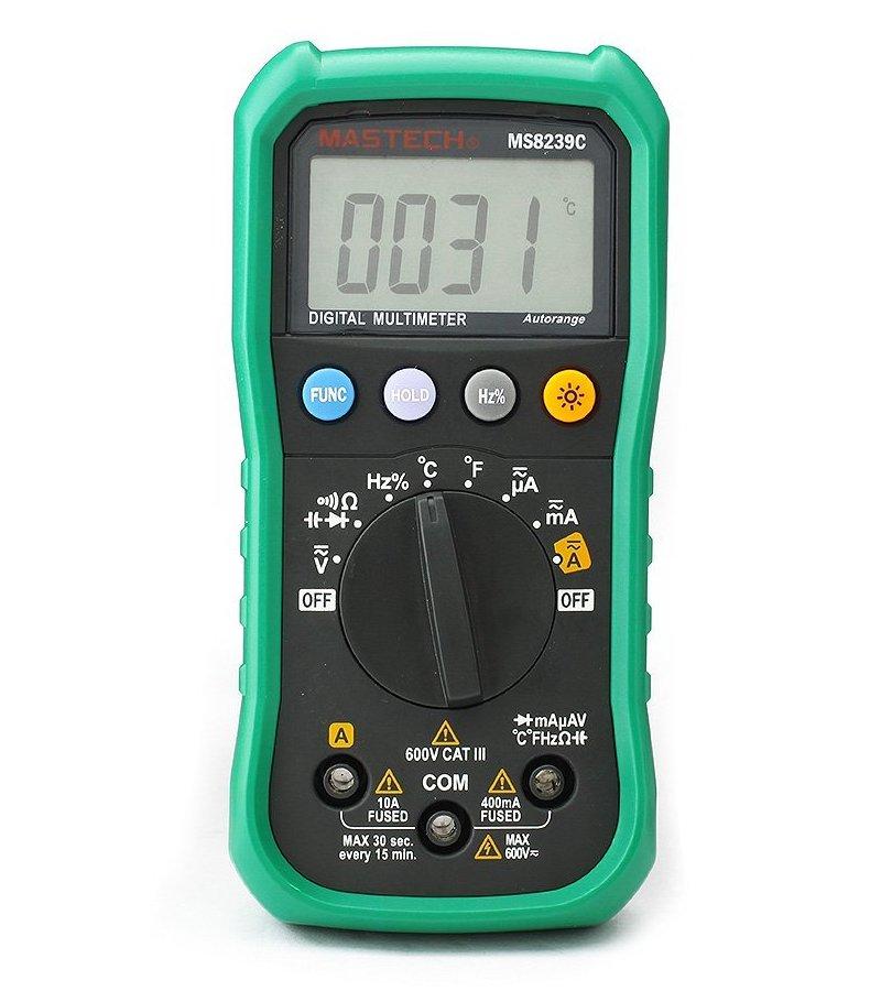 Мультиметр Mastech MS8239C цена 2017