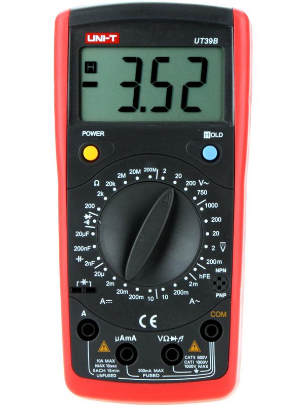 Мультиметр UNI-T UT39B<br>