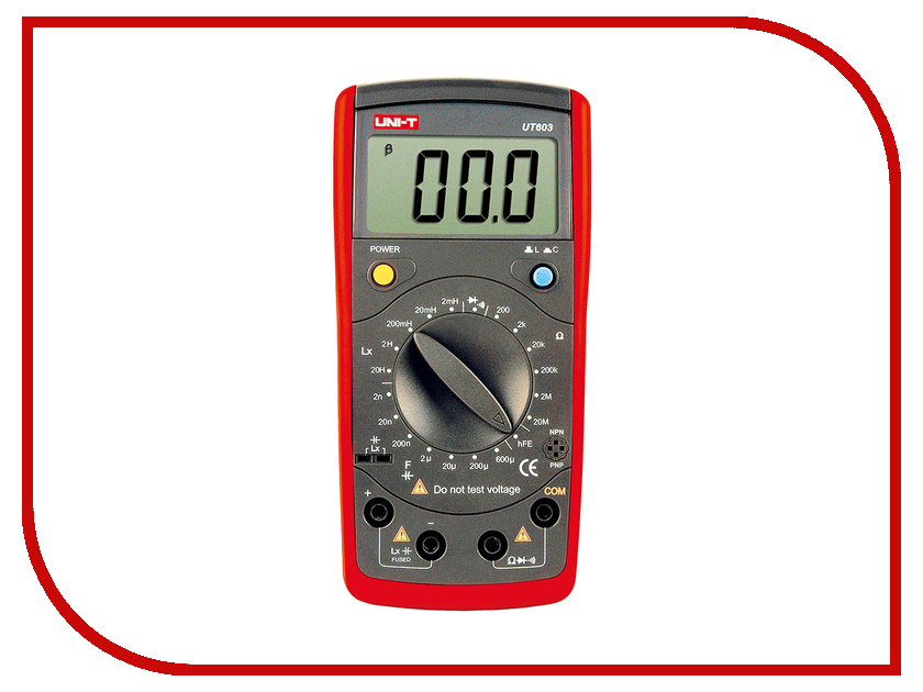 Мультиметр UNI-T UT603 uni t ut220 handheld 2 lcd digital clamp multimeter red grey 1 x 6lf22 max 2000