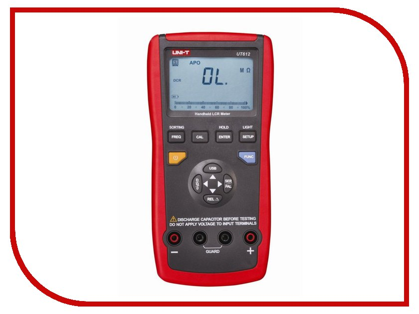 Мультиметр UNI-T UT612 uni t ut25a high performance automatic circuit breaker finder socket ground tester with led indicator electronic component test