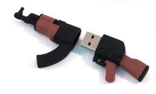 USB Flash Drive 4Gb - Союзмультфлэш АК-74 FM4WR3.28