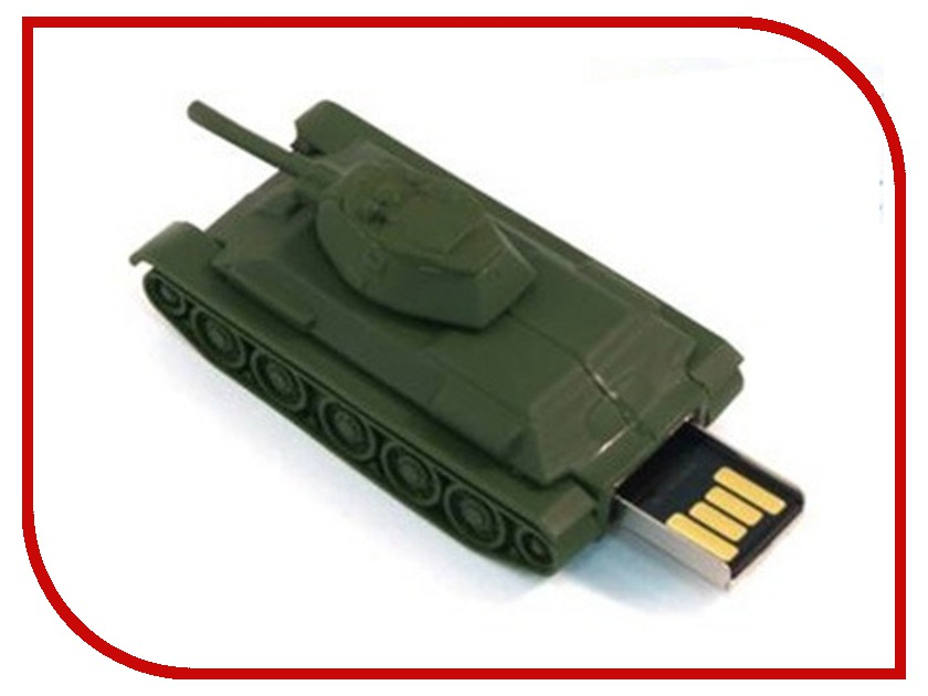 USB Flash Drive 4Gb - Союзмультфлэш Т34-76 FM4WR3.16<br>