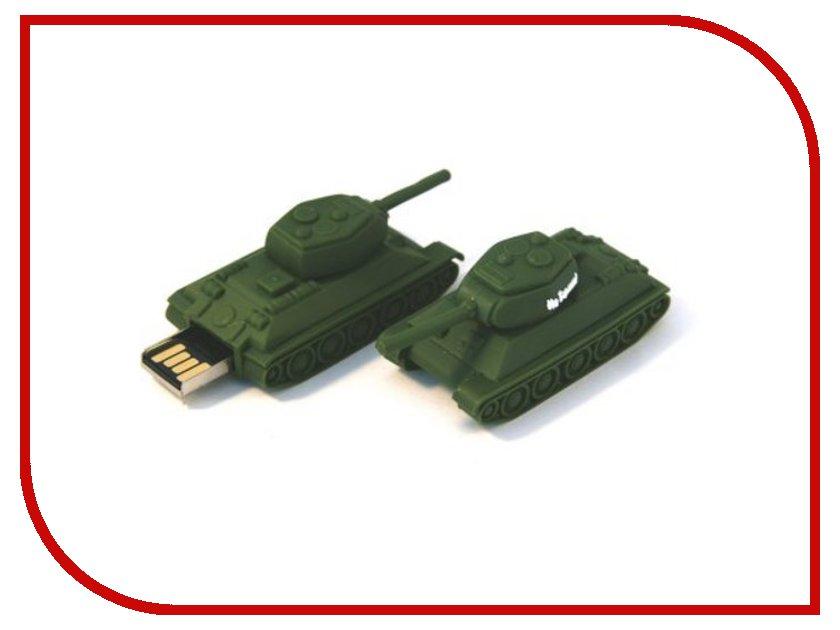 USB Flash Drive 4Gb - Союзмультфлэш Т34-85 На Берлин FM4WR3.41<br>