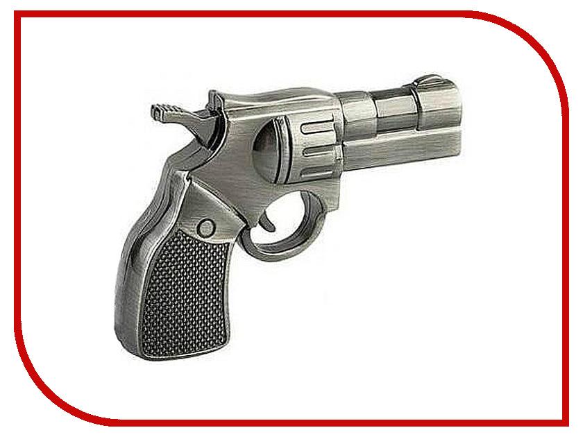 USB Flash Drive 4Gb - Союзмультфлэш Револьвер Silver FM4WR2.34.SL<br>