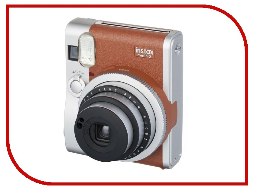 Фотоаппарат FujiFilm 90 Instax Mini Neo Classic Brown genuine fuji mini 8 camera fujifilm fuji instax mini 8 instant film photo camera 5 colors fujifilm mini films 3 inch photo paper