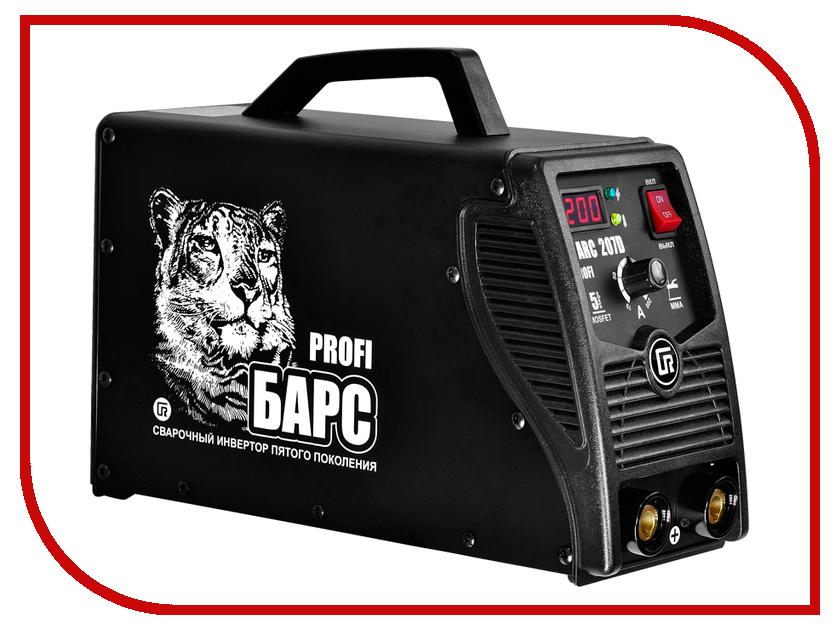 Сварочный аппарат БАРС Profi ARC-207 D инвертор барс profi arc 317 d 380в св000006798