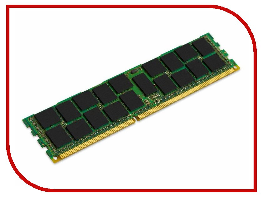 Модуль памяти Kingston PC3-12800 DIMM DDR3L 1600MHz ECC Reg CL11 - 4Gb KVR16LR11S8/4