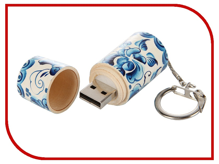 USB Flash Drive 16Gb - Союзмультфлэш Гжель FM16RUS7.14.01.G<br>