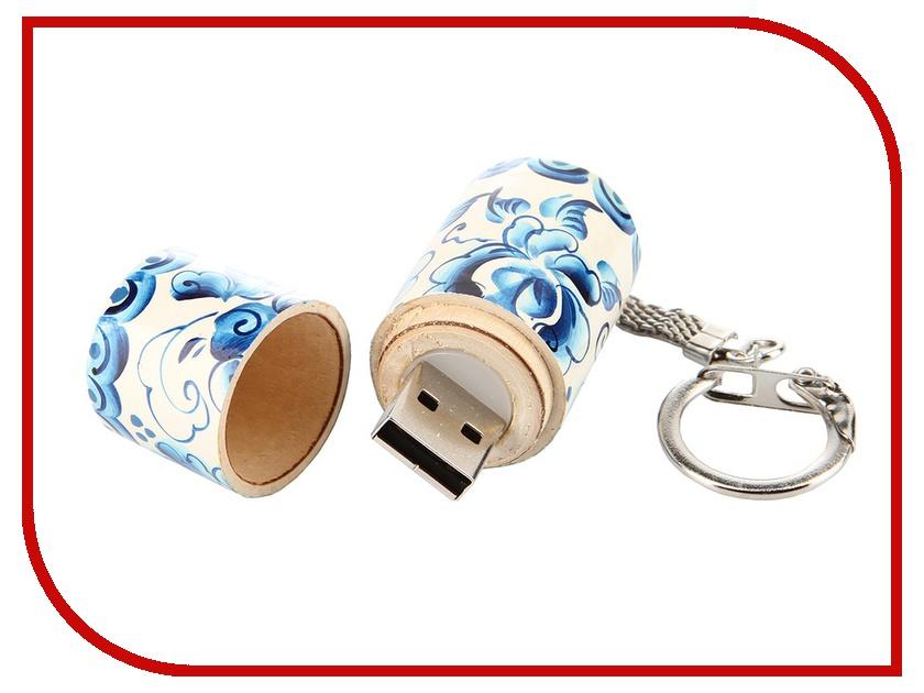 USB Flash Drive 32Gb - Союзмультфлэш Гжель FM32RUS7.14.01.G<br>