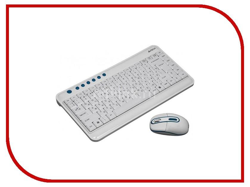 Набор A4Tech 7600N USB Blue