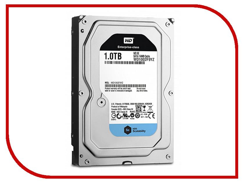 Жесткий диск 1Tb - Western Digital SE WD1002F9YZ