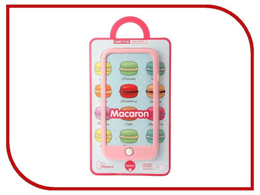 Аксессуар Чехол Ozaki O!Coat Macoron для iPhone 6 Pink OC563PK<br>