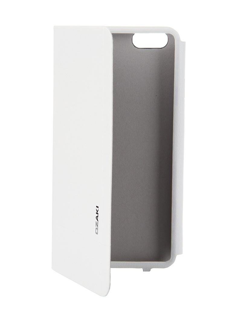 Аксессуар Чехол Ozaki O!Coat 0.3 Aim+ для iPhone 6 White OC564WH