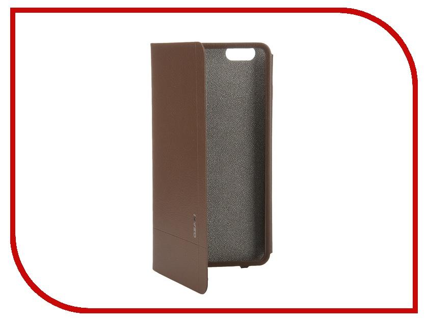 где купить  Аксессуар Чехол Ozaki O!Coat Aim+ для iPhone 6 Plus Brown OC582BR  дешево