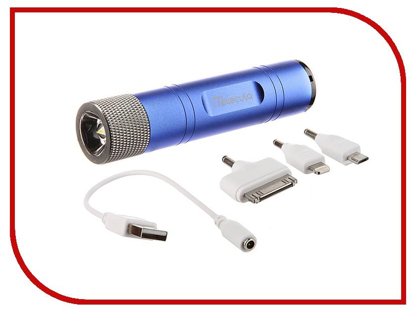 Аккумулятор Molecula 2200 mAh PB-2.2-01FB Blue