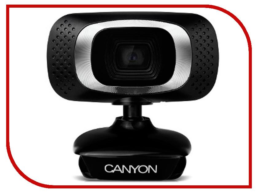 Вебкамера Canyon CNE-CWC3 Black canyon canyon cne cpb100