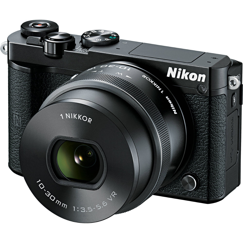 Фотоаппарат Nikon 1 J5 Kit 10-30 mm F/3.5-5.6 VR PD-Zoom Black<br>