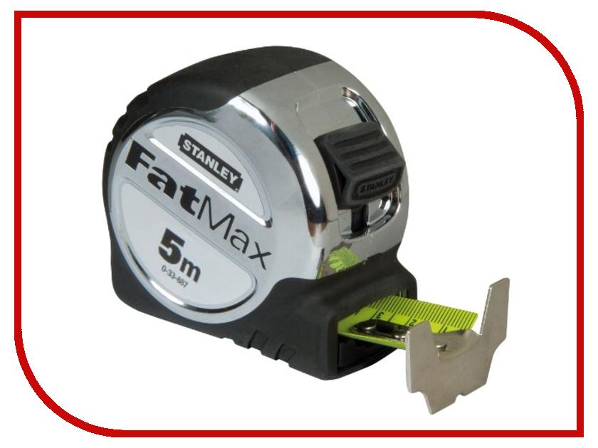 Рулетка Stanley Fatmax XL 0-33-887 stanley powerlock 5m 0 33 194 рулетка silver