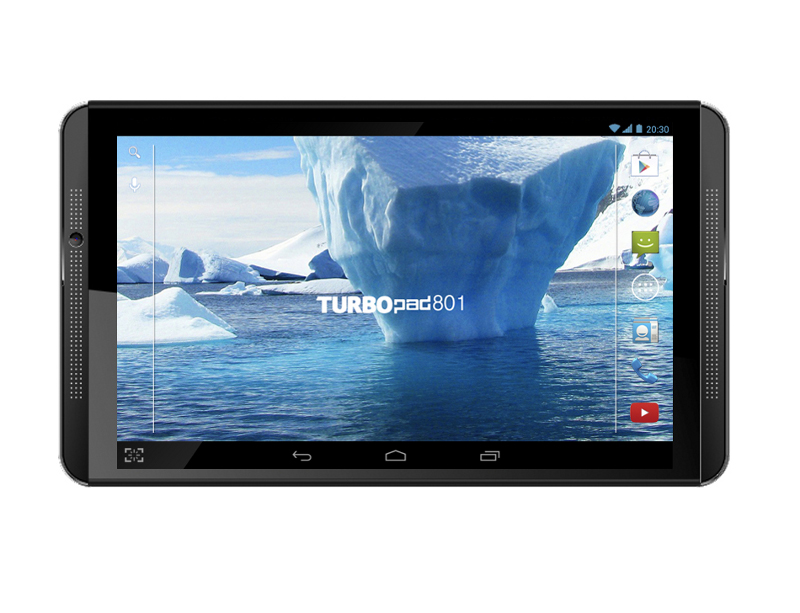 Планшет TurboPad 801 Mediatek MTK8382 1.3 GHz/1024Mb/16Gb/GPS/3G/Wi-Fi/Bluetooth/Cam/8.0/1280x800/Android