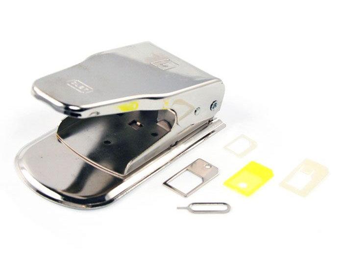 Прибор для обрезания SIM карт Liberty Project SM000292 - 2 в 1 MicroSIM / NanoSIM Cutter