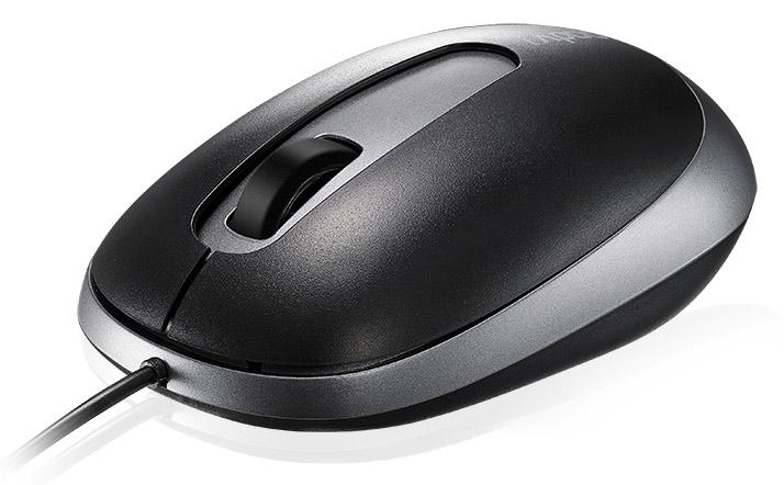 Мышь проводная Rapoo N3200 Black USB