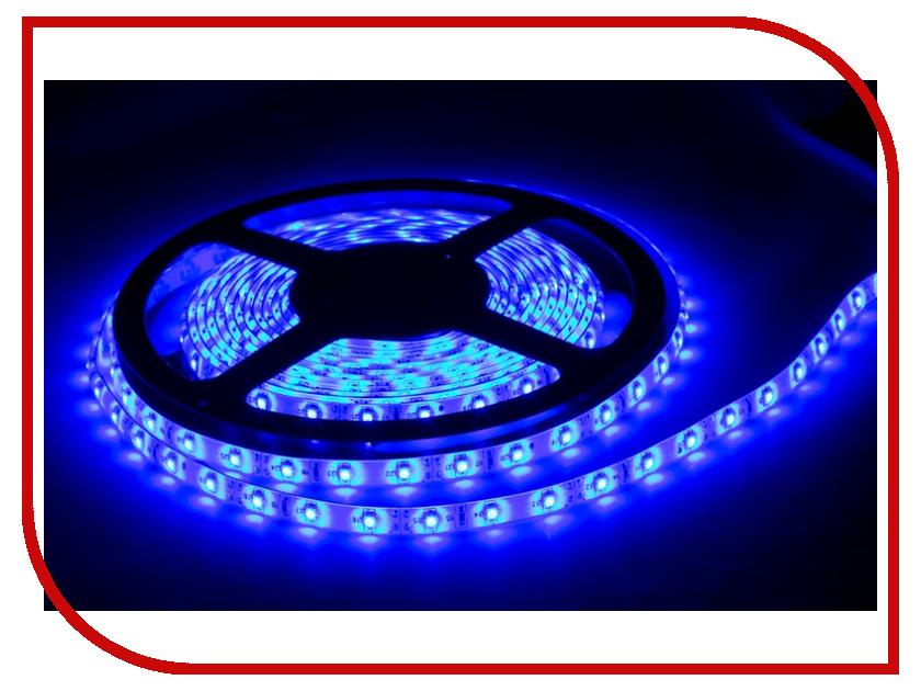 Светодиодная лента Camelion SLW-5050-30-C06 5m IP65 Blue<br>