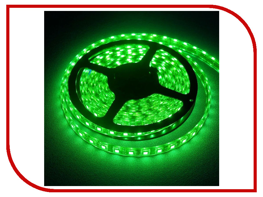 Светодиодная лента Camelion SL-5050-30-C05 5m IP20 Green