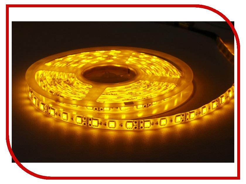 Светодиодная лента Camelion SL-5050-30-C07 5m IP20 Yellow