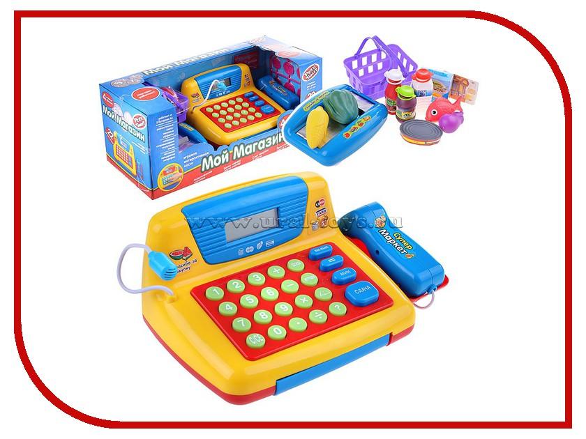 Игра Shantou Gepai Касса 7016 shantou gepai игрушка пластм касса электронная продукты сканер shantou gepai