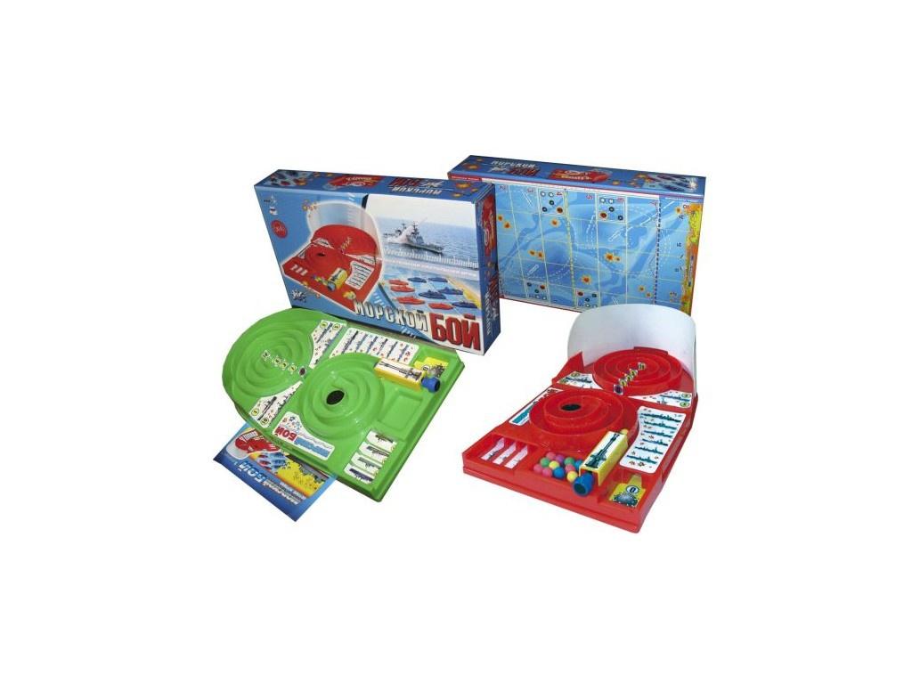 Настольная игра Спорт Тойз Морской бой 061<br>