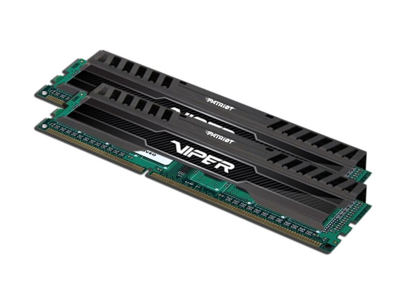 Модуль памяти Patriot Memory Viper 3 Black DDR3 DIMM 1600MHz PC3-12800 CL10 - 16Gb KIT (2x8Gb) PV316G160C0K