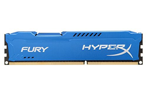 Модуль памяти Kingston HyperX Fury Blue Series DDR3 DIMM 1333MHz PC3-10600 CL9 - 4Gb HX313C9F/4 цена и фото