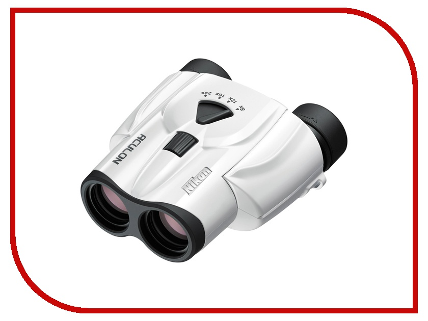 Бинокль Nikon 8-24x25 Aculon T11 Zoom White<br>