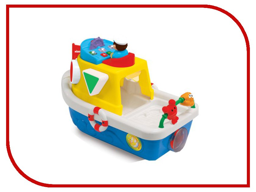 Сортер Kiddieland Мой первый корабль-сортер KID 046045 игрушка yako сортер корабль y1567293