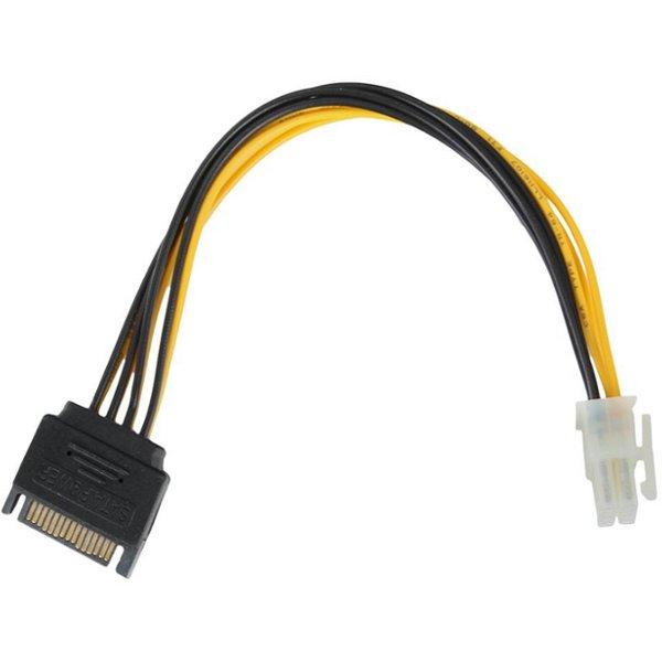 Аксессуар Greenconnect SATA 15pin / ATX 8pin GC-ST219