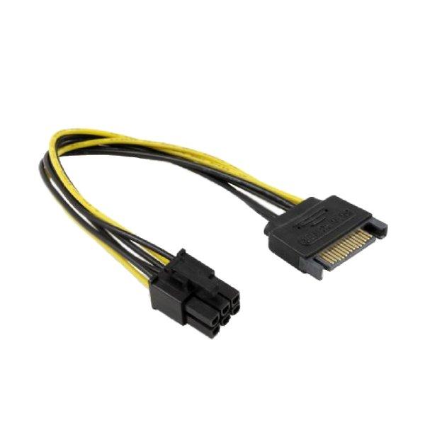 Аксессуар Greenconnect SATA 15pin / ATX 6pin GC-ST218