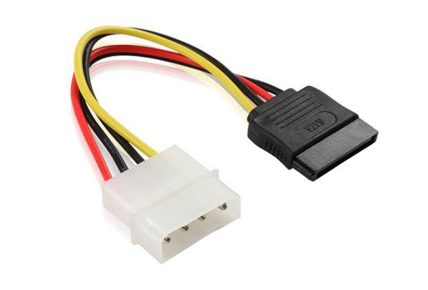 Аксессуар Greenconnect MOLEX 4pin/SATA 15pin GC-ST201
