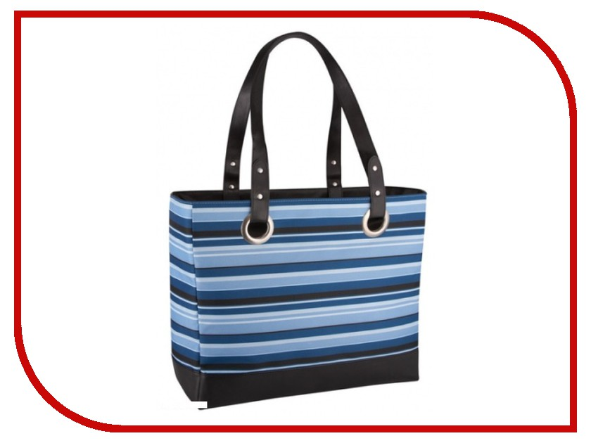 термосумка Thermos Raya 24 Can Tote Blue Stripe 421036