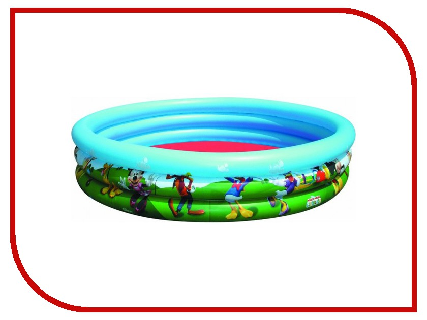 Детский бассейн BestWay 91007B бассейн детский круглый 102х25см 62л bestway