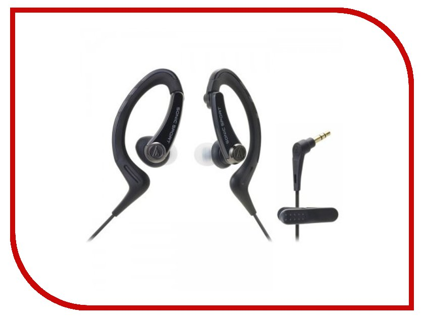 Audio-Technica ATH-SPORT1 BK Black гарнитура audio technica ath sr5bt bk black