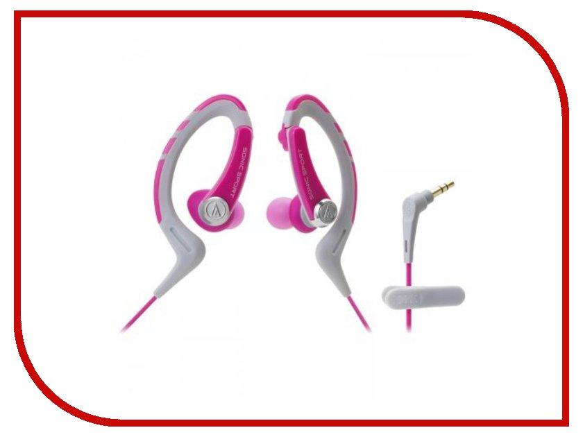 Наушники Audio-Technica ATH-SPORT1 PK Pink<br>