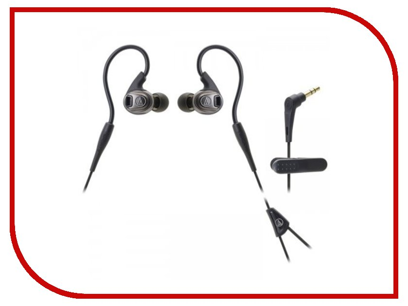 Audio-Technica ATH-SPORT3 BK Black audio technica ath ls50is 15119537 внутриканальные наушники red