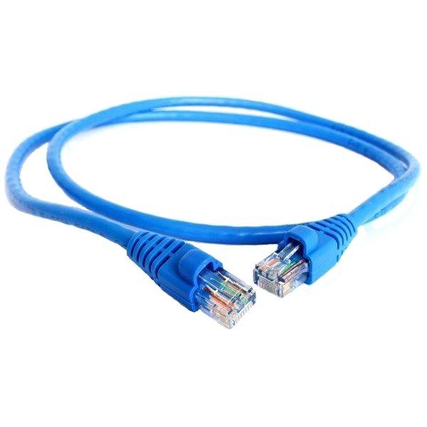 Аксессуар Greenconnect UTP 5e 24awg RJ45 1.5m GC-LNC01-1.5m Blue