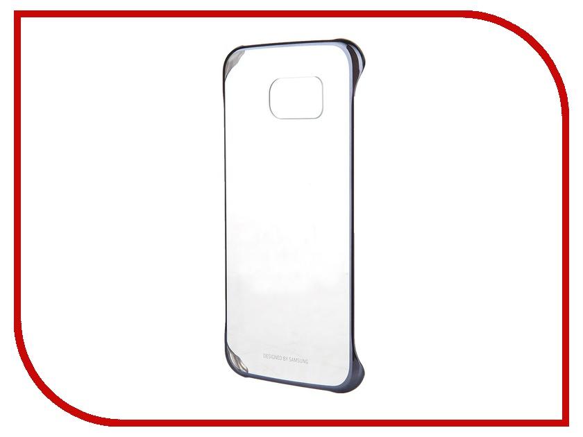 Аксессуар Чехол-накладка Samsung SM-G920 Galaxy S6 Clear Cover Black EF-QG920BBEGRU<br>