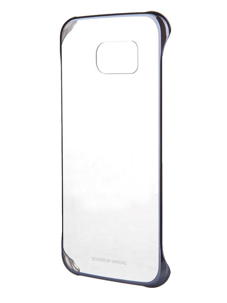 Аксессуар Чехол Samsung SM-G920 Galaxy S6 Clear Cover Black EF-QG920BBEGRU<br>